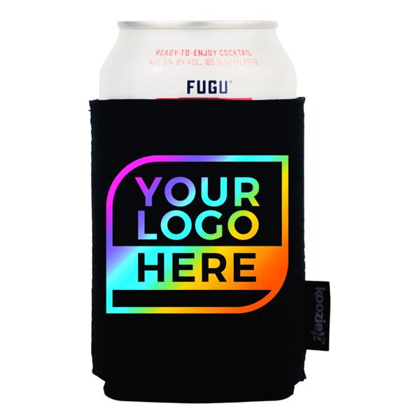 FULL COLOR Logo Koozie® Neoprene Single Sided Can Cooler