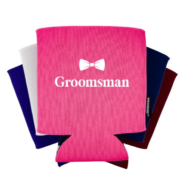 Groomsman Bridal Shower Koozie®