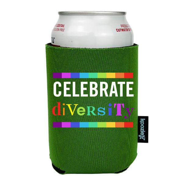 Koozie® Celebrate Diversity Pride Drink Cooler