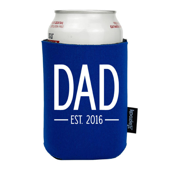 Koozie® Dad Established Custom Year Drink Cooler