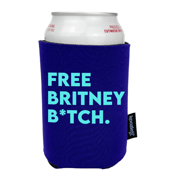 Koozie® Free Britney B*tch Drink Cooler