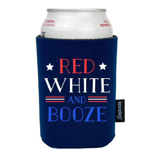 Koozie® Red White & Booze Patriotic Drink Cooler