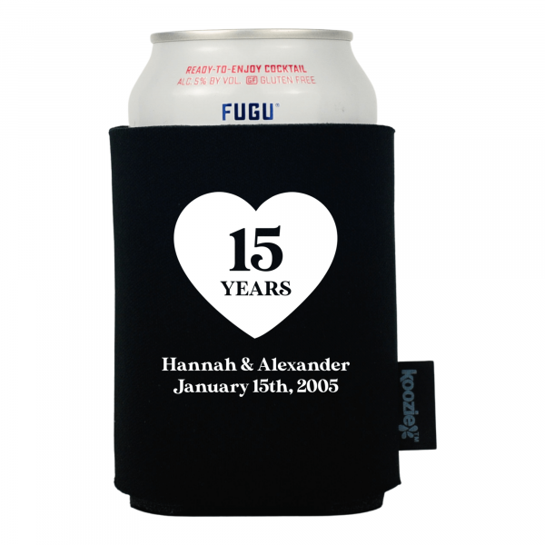 Koozie® I Do Again Anniversary Drink cooler
