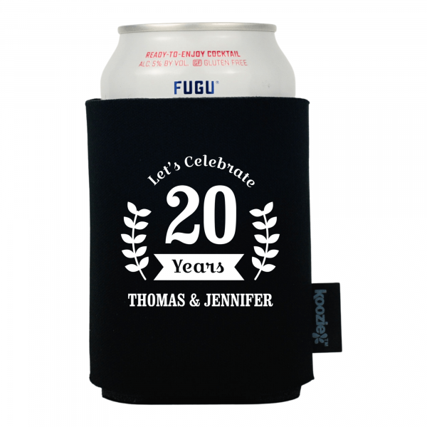 Koozie® Celebration Wreath Anniversary Drink Cooler