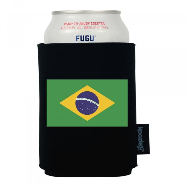 Koozie® Brazil Country Flag Drink Cooler
