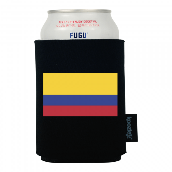 Koozie® Colombia Country Flag Drink Cooler