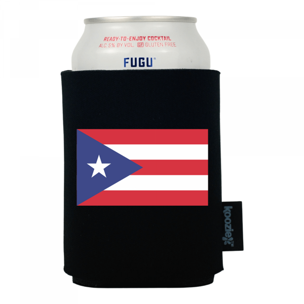 Koozie® Puerto Rico Country Flag Drink Cooler