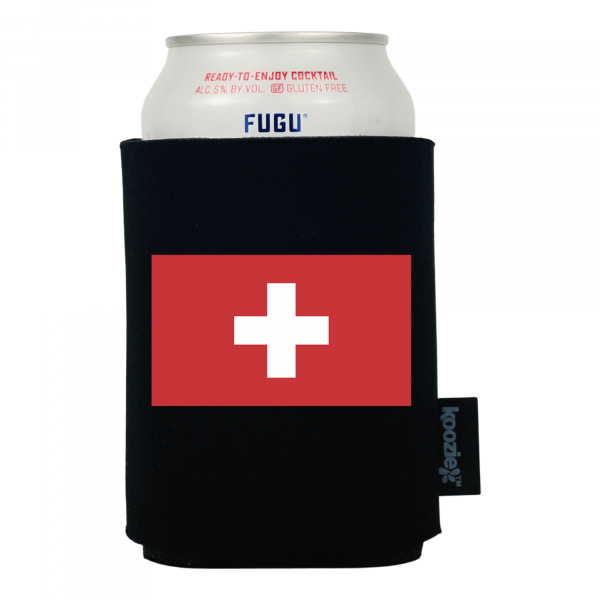 Koozie® Switzerland Country Flag Drink Cooler