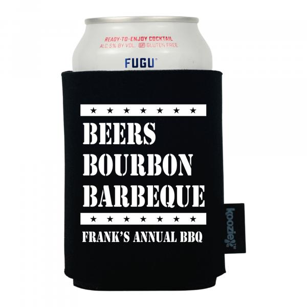 Koozie® Beers Bourbon BBQ Drink Cooler