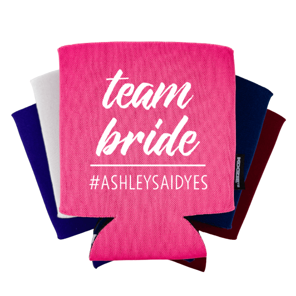 Team Bride Bridal Shower Koozie®