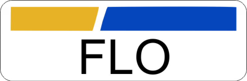 Flo Halloween Costume Name Badge