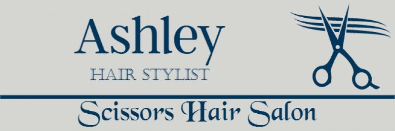 Hair Salon 3 Line Rectangle Name Badge B