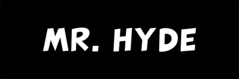 Mr. Hyde Halloween Costume Name Badge
