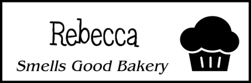 Bakery Muffin 2 Line Name Badge