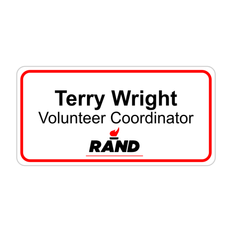 Rand Paul Presidential Name Badge