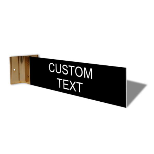"Custom Text Corridor Sign   2"" x 8"""