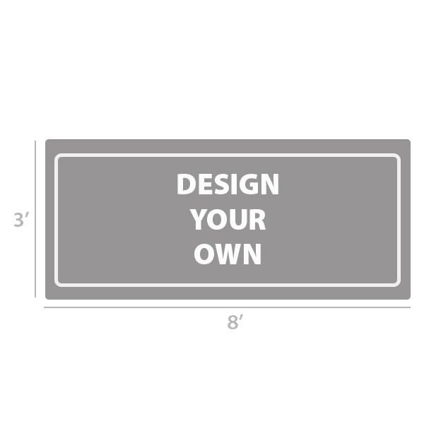 3' x 8' Custom Full Color Vinyl Banner