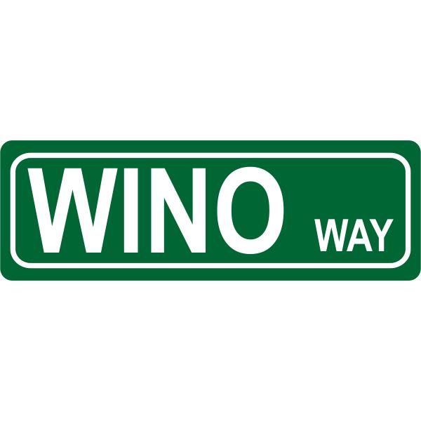 Way Street Sign