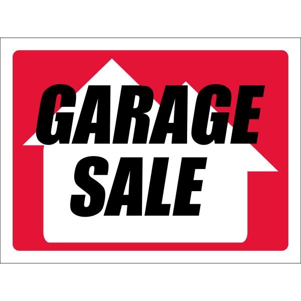 Custom Garage Sale Yard Sign