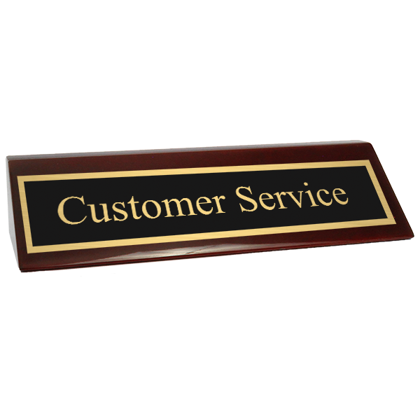 Customer Service Piano Desk Block
