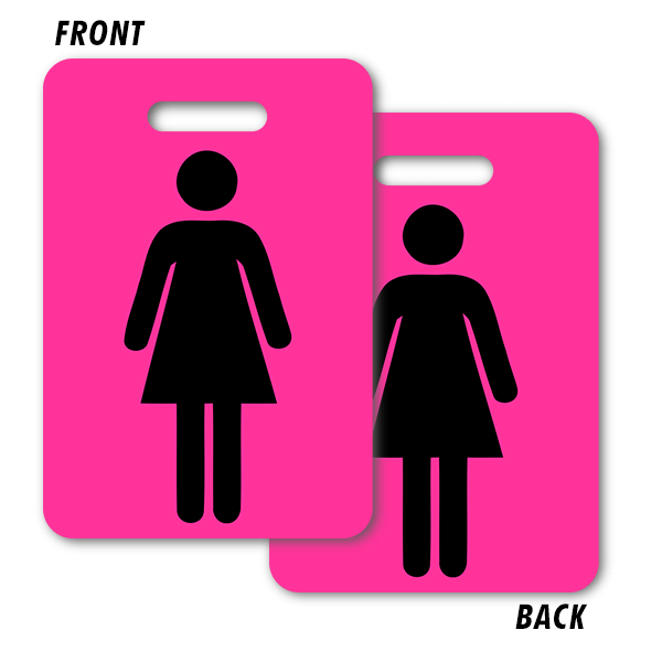 Girl Bathroom Pass