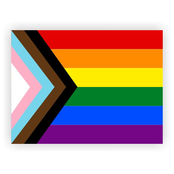 Official LGBTQ+ Pride Yard Sign