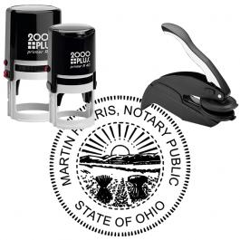 Ohio Notary Round Seal