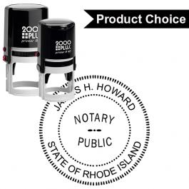 Rhode Island Notary Round Seal