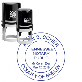 Tennessee Notary Round Seal