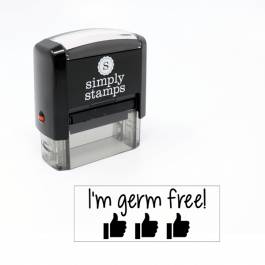 I'm Germ Free Stamp for Teachers