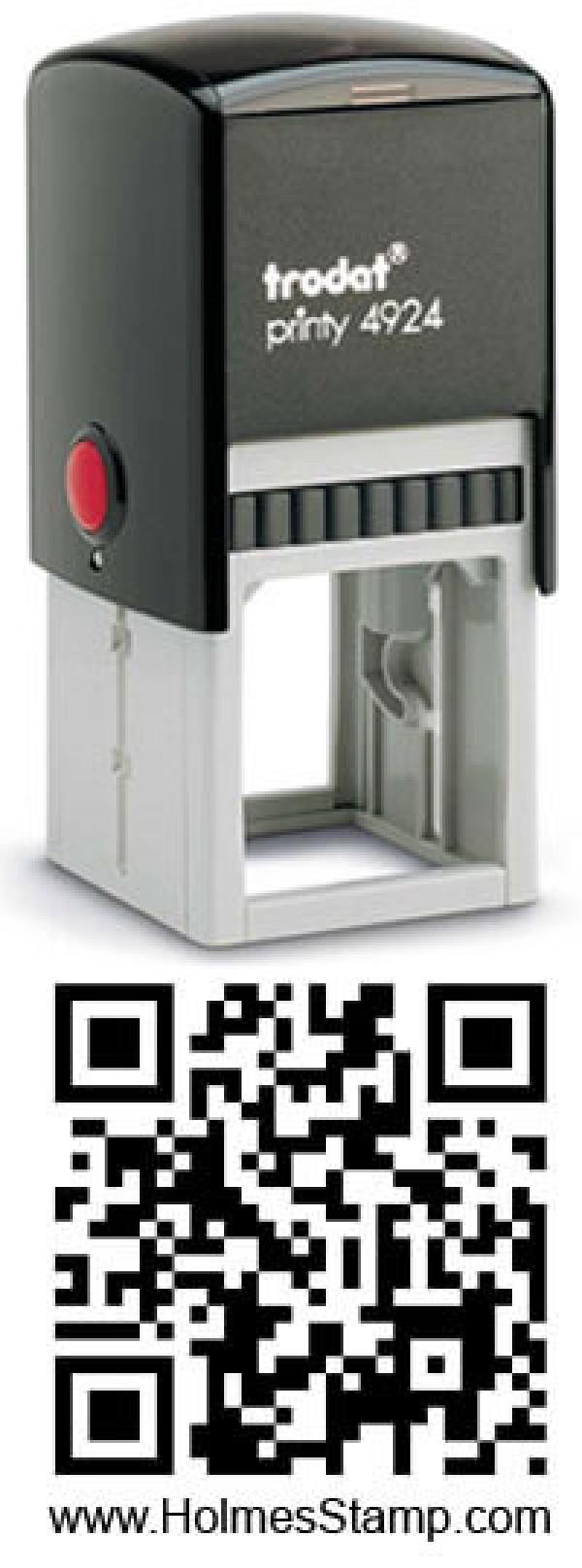 Square QR Code Stamp