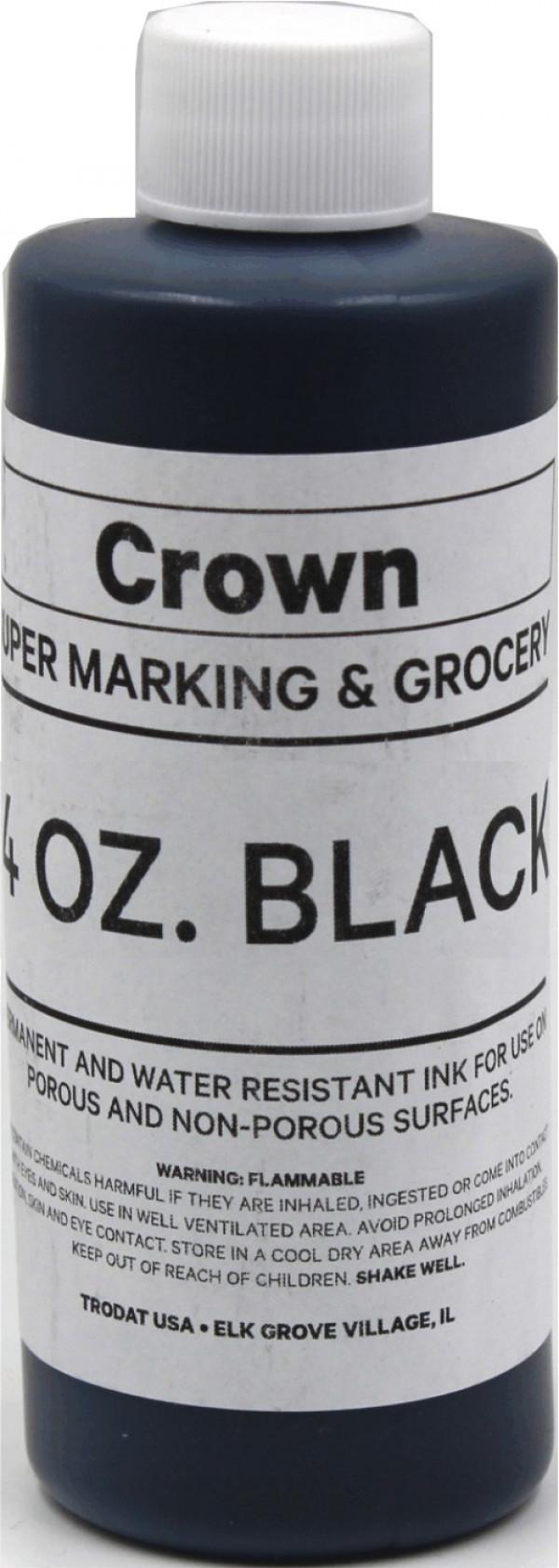 Black 4oz SuperMarking Ink