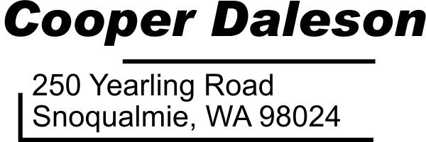 Daleson Address Stamp