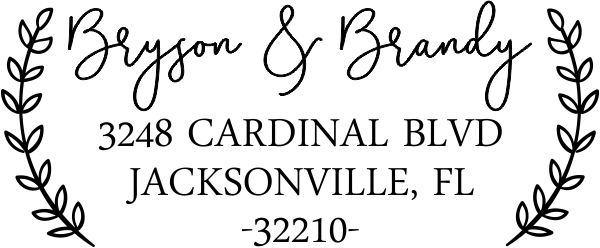 Bryson Address Stamp