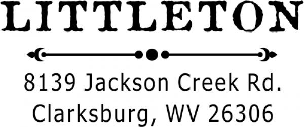 Littleton Custom Return Address Stamp