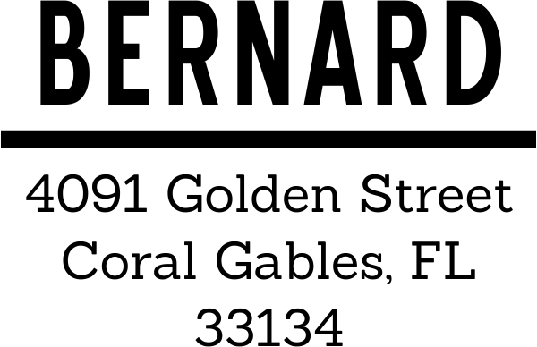 Bernard Bold Address Stamp