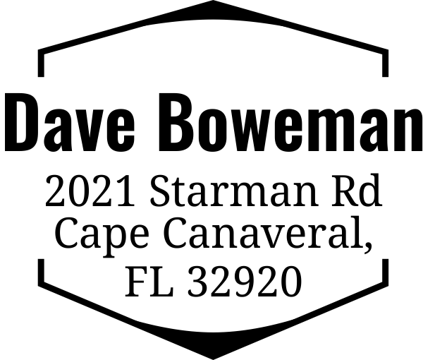 Boweman Address Stamp