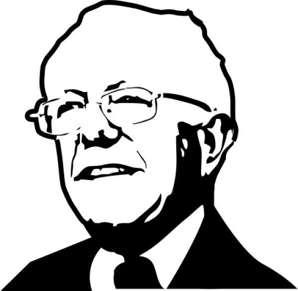 Bernie Sanders Political Figure Stamp