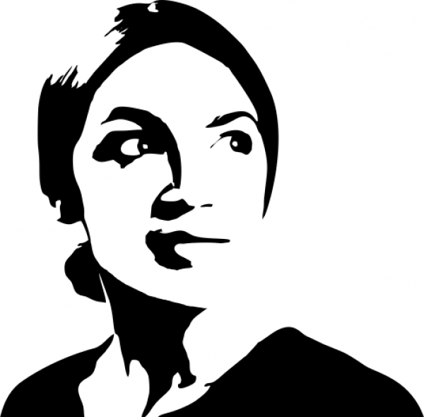 Alexandria Ocasio-Cortez Political Figure Stamp