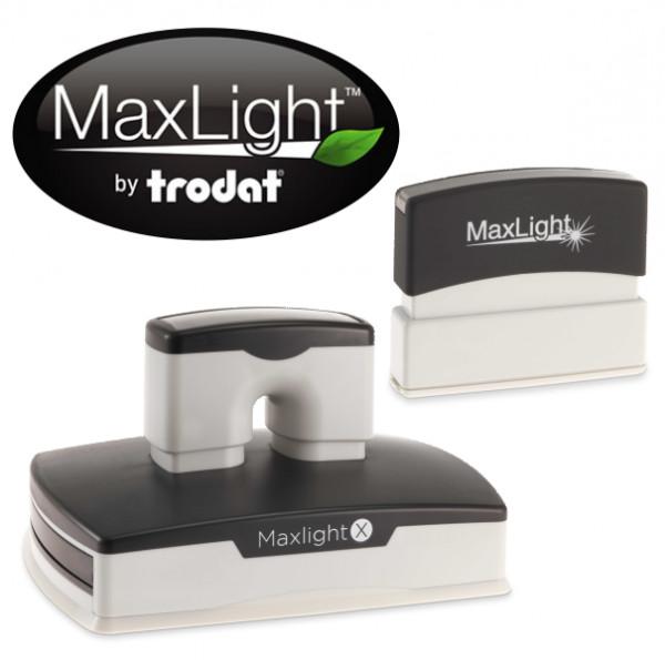 Maxlight Pre-Inked Rectangular Stamps