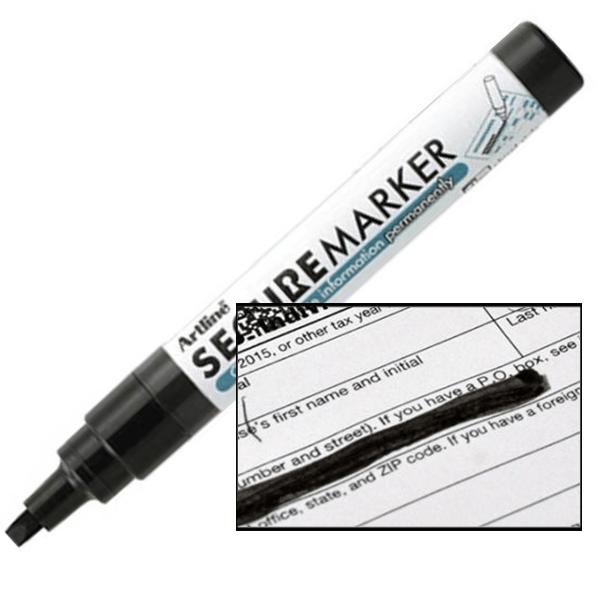 Artline Blackout Secure Redacting Pen Marker