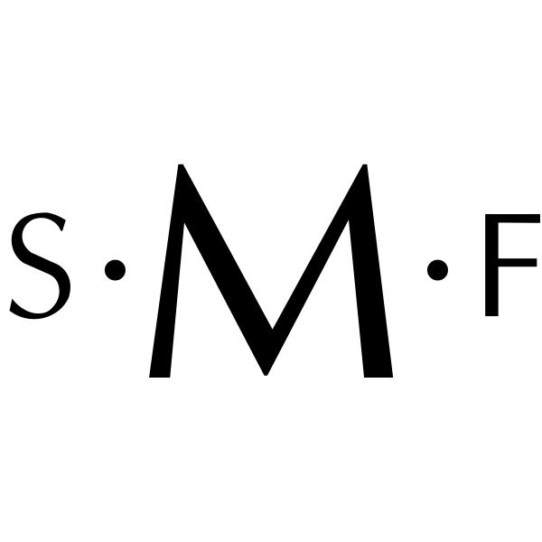 Modern Morse Monogram Stamp