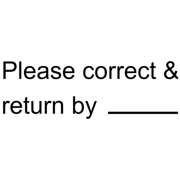 Please Correct and Return Teacher Grading Stamp