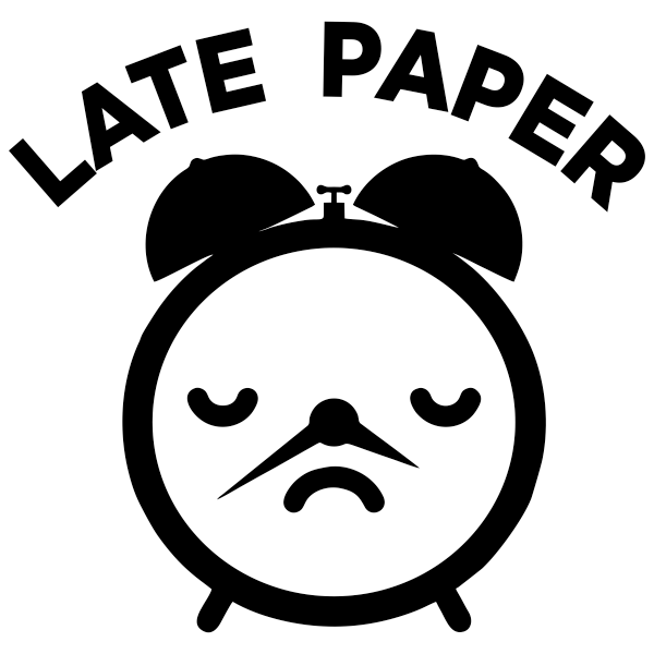 Late Paper Round Teacher Grading Stamp