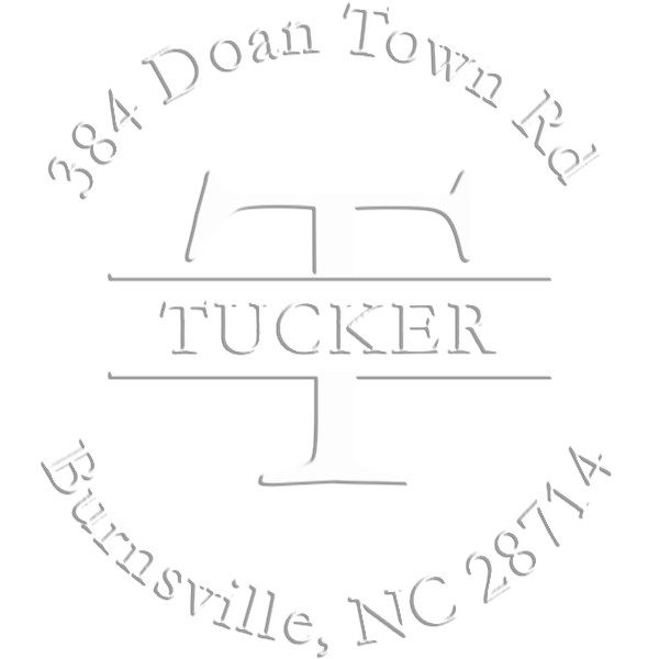 Tucker Round Return Address Embosser