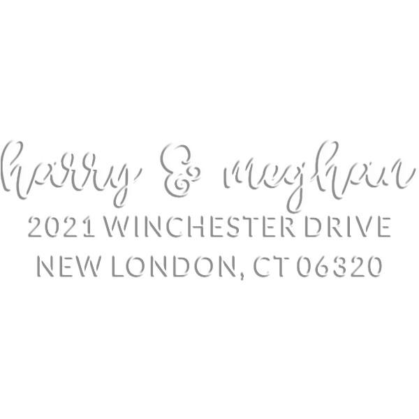 Winchester Rectangular Return Address Embosser