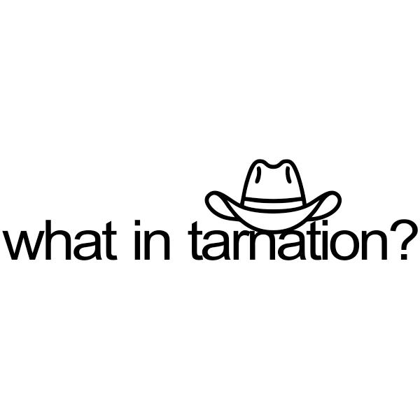 What in Tarnation Meme Stamp