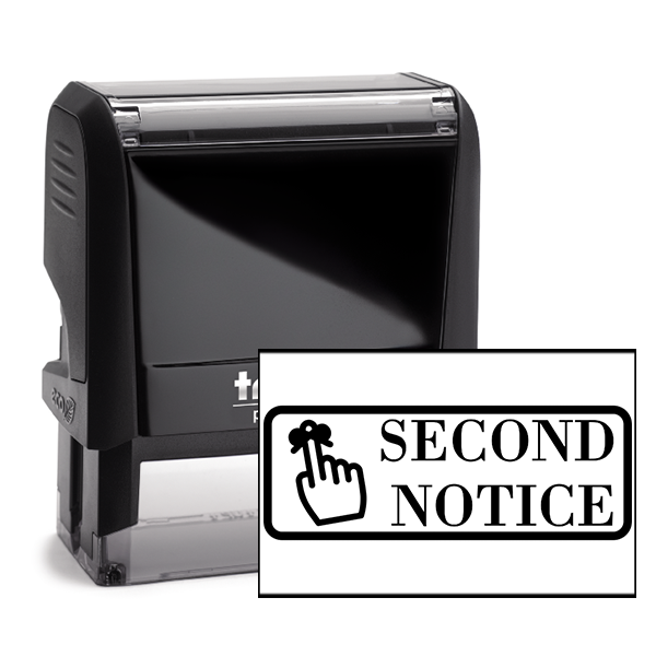 Second Notice Stamp