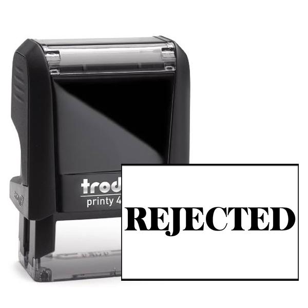 Rejected Banker Stamp