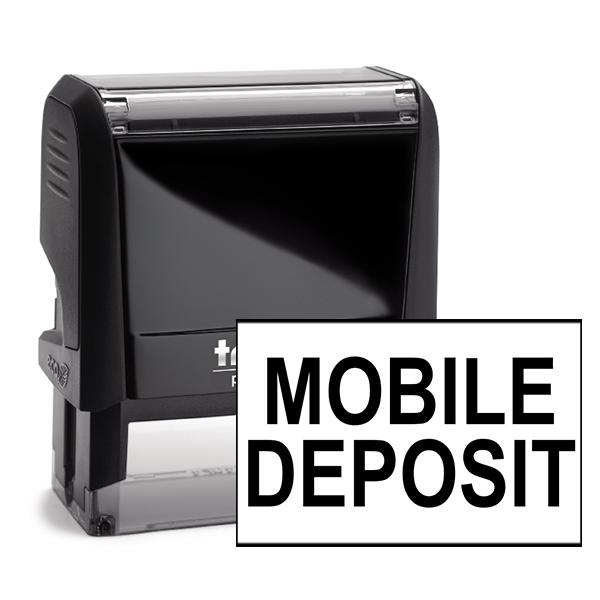 Mobile Deposit Stamp